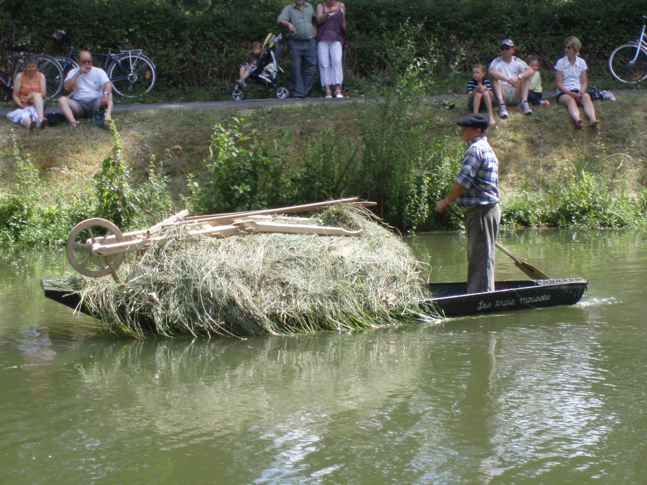 Défilé de barque